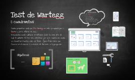 TEST DE WARTEGG 8 CUADRANTES