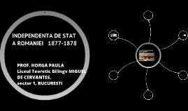 INDEPENDENTA DE STAT A ROMANIEI CLASA A VIII-A