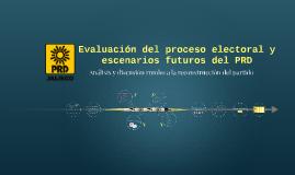 Evaluación del proceso electoral y escenarios futuros del PR