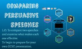 Comparing Persuasive Texts