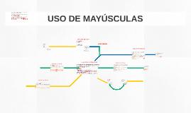 Copy of USO DE MAYÚSCULAS