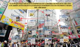 """""""LAS PEQUEÑAS Y MEDIANAS EMPRESAS DE GAMARRA NO PUEDEN CRECE"""