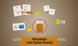 #ekultur – Barcamps statt Zuhör-Events