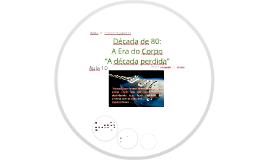 """MODA E COMPORTAMENTO_ Aula 10_Anos 80: A Era do Corpo - """"A década perdida"""""""