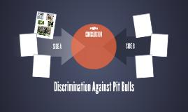 Discrimination Against Pitbulls