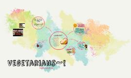 Vegetarians~!