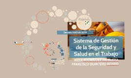 Copy of Sistema de Gestión de la Seguridad y Salud en el trabajo