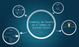 Gestion de la Cadena de Suministro SCM