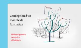 Copy of Copy of Méthodologie de conception pédagogique