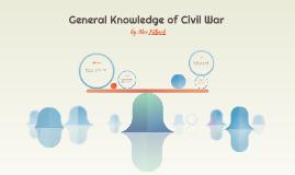 General Knowledge of Civil War