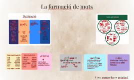 Copy of La formació de mots