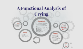 A Functional Analysis of Crying