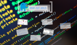 PHP-IST 2013 - Opening Keynote