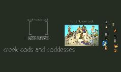Copy of Greek Gods and Goddesses