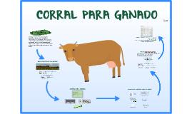 Corral para ganado bovino