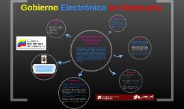 Gobierno Electrónico en Venezuela
