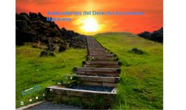 Antecedentes del Derecho Económico Mexicano