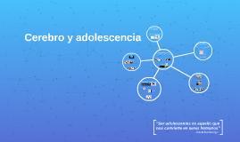 Cerebro y adolescenia