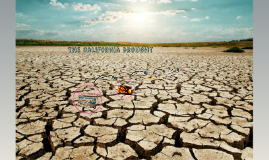 The CALIFRONIA DROUGHT