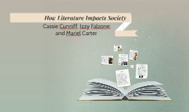 how literature impacts society