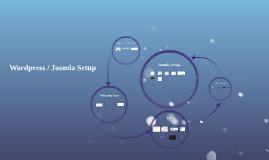 Wordress + Joomla Setup