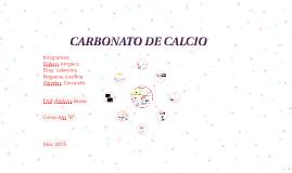 Copy of CARBONATO DE CALCIO