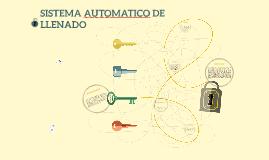 LLENADO AUTOMATIZADO DE TANQUE CON INDICADOR DE NIVLE