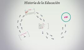 Historia de la Educación