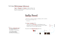 Sally Perel: Ich war Hitlerjunge Salomon