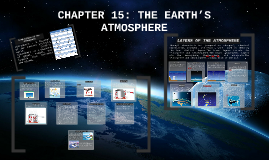 CHAPTER 15: THE EARTH'S ATMOSPHERE