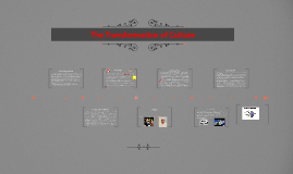 The Transformation of Culture