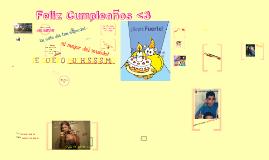 Copy of Feliz Cumpleaños <3