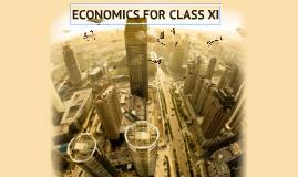 Economics For Class-XI