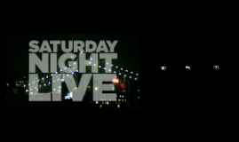 The Beginnings of Saturday Night Live
