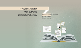 Copy of Writing Seminar - Lucy Calkins