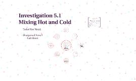 Investigation 5.1