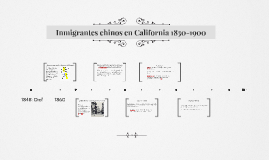 Imigrantes chinos en California