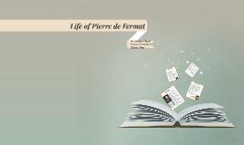 Life of Pierre de Fermat