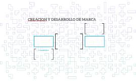 CREACION Y DESARROLLO DE MARCA
