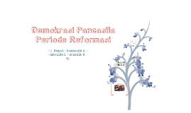 Demokrasi Pancasila Periode Reformasi