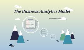 The Business Analytics Model