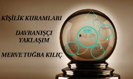 Copy of KİŞİLİK KURUMLARI