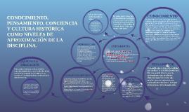 Copy of CONOCIMIENTO, PENSAMIENTO, CONCIENCIA Y CULTURA HISTORICA CO