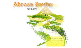 Ambrose Sevier