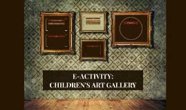 Children's art gallery