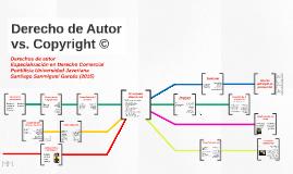 Derecho de Autor vs. Copyright ©