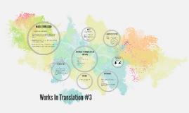 Works In Translation #3