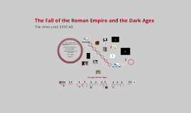 Copy of The Fall of the Roman Empire and the Dark Ages
