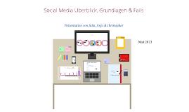 Social Media Grundlagen, Wissenswertes & Flops