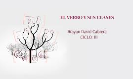 Copy of EL VERBO Y SUS CLASES